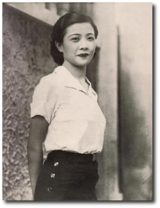 Lingyu-Ruan, tough chick and one of the most famous Chinese films stars of the 1930s.