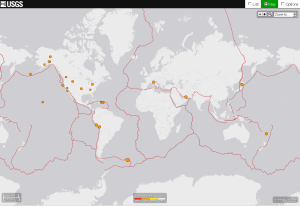 A fair number of intraplate earthquakes in the continental US this morning.