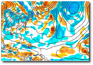Current (August 16th midday) GFS graphic from here.