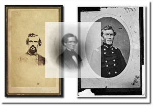 Forrest, Davis and Bragg during the war (all images from Library of Congress)