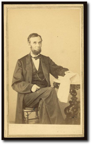 President Lincoln in August 1863.  (Library of Congress)