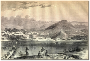 Chattanooga, in Harper's Weekly, September 12, 1863.  (Source)