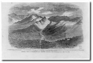 The Cumberland Gap in Tennessee, 1862 (Library of Congress)