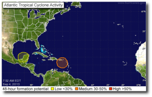 Current NHC outlook
