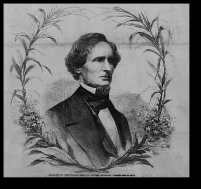 Jefferson Davis circa 1861.  (Library of Congress)