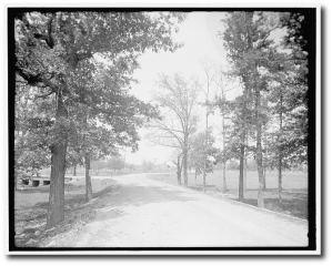 A section of the LaFayette Road in Georgia, three decades later.  (Library of Congress)
