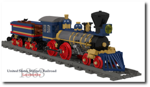 There is a LEGO train commemorating this effort.  Seriously.
