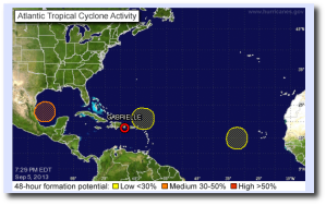 NHC tropical outlook