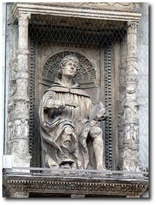 A Renaissance-era statue of Pliny the Younger.  (Wikipedia)