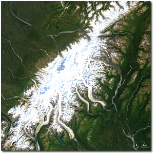 Denali National Park in August 2000 (NASA by way of EarthSky.org)