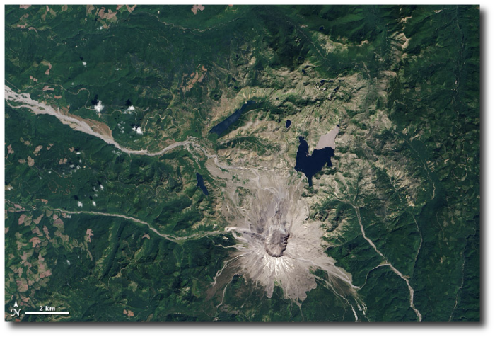 Mount St. Helens vicinity on August 20, 2013.