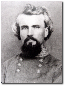 Retouched image of General Nathan Bedford Forrest.  (Source)