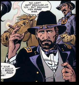 Representatives of DC Comics were also on board that train.