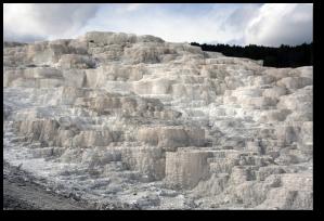 Travertine in Yellowstone (Redeo)