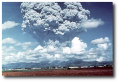 This isn't the big one - Pinatubo is just clearing its throat.  (Image:  USGS)