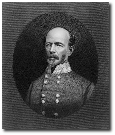 General Joseph Johnston.  His troops stayed in the field after Appomattox.  (Library of Congress)
