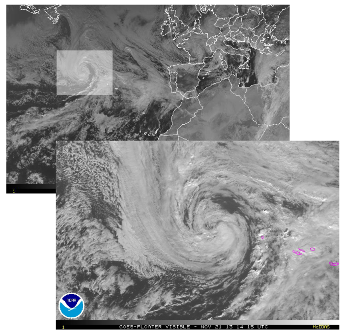 GOES/NOAA/EUMETSAT