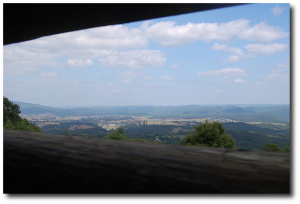 The view from Droop Mountain Battlefield State Park today.  (Sonja)