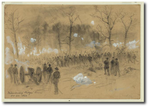 Missionary Ridge, by A. R. Waud (Library of Congress)