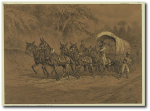 """The Supply Train,"" by E. Forbes (Library of Congress)"