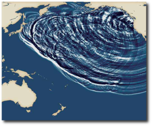Tsunamis like their ocean shaken, not stirred.  (Image source)