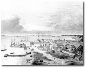 Key West during the Civil War.  (Source)