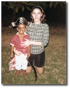 Ann Dunham and her son Barack Obama.  He went on to accomplish a very great thing.  (Image source)