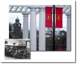 Higher education in Tuskegee, Alabama - then and now.  (Wikipedia)