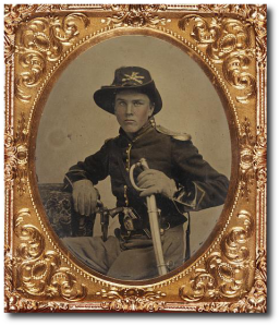 Unidentified US cavalryman.  (Library of Congress)