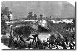 US soldiers had crossed the Big Black from the opposite direction back in May 1863.  (Source)