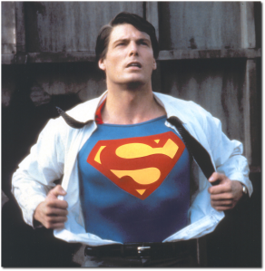 """Donner's Superman is the best, but if there is a point to """"Good Omens"""" (a big """"if""""), it's that the most super thing of all is just a regular old human being, of any age, any condition, any background.  (Image source)"""