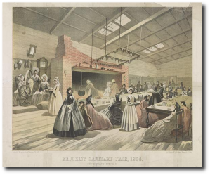 Brooklyn Sanitary Fair, 1864.  (Library of Congress)
