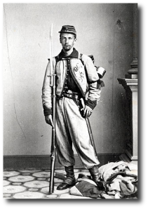 Zouaves looked cool - of course they camped near the general.  (Wikipedia)