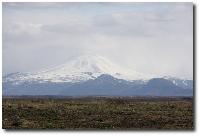 "Flickr photo by adam w, who wrote in 2012, ""The mighty volcano Hekla - usually seen with a shroud of dark clouds around her peak, for once we were greeted with a spectacular, clear view. Worryingly it has been reported locally that the signs are getting clearer that an eruption is imminent - and they are usually explosive eruptions.""  Hekla didn't erupt in 2012."