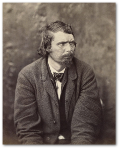 George A. Atzerodt, after his arrest.  An alcoholic, he joined the conspiracy for the money, per Kauffman.  (Library of Congress)