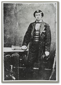 Herold before the assassination.  I wonder if this was the image his sister gave his pursuers to help identify him.  (Library of Congress)