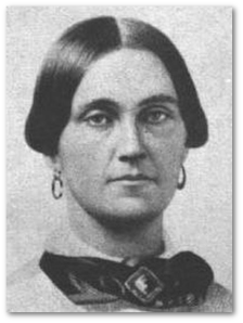 Mary Surratt.  (Image:  Wikipedia)