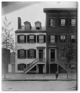 Surratt's Boardinghouse in 1890.  (Library of Congress)
