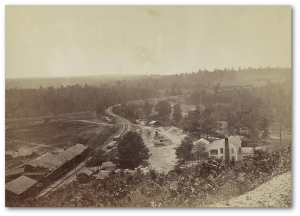 Allatoona Pass during the war.  (Library of Congress)