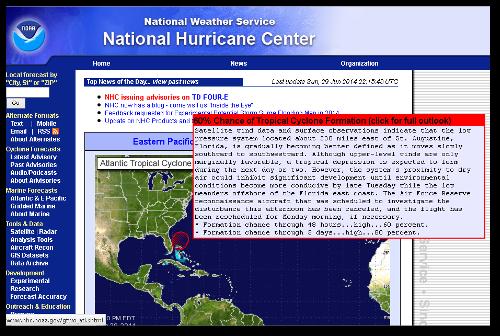 National Hurricane Center.