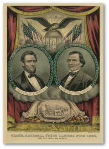 """Grand national union for 1864. Liberty, union and victory"" (Library of Congress)"