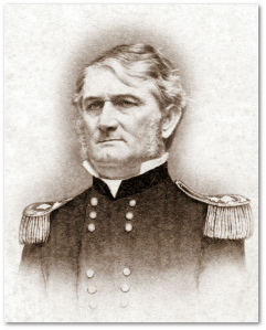 General Leonidas Polk, CSA.  (Library of Congress, via Wikipedia)