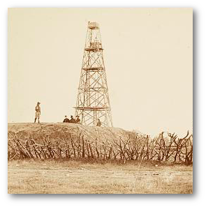 Signal tower on the line before Petersburg, 1864.  (Library of Congress)