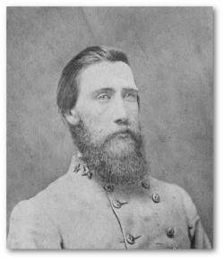 General J. B. Hood, CSA, commander of the Army of Tennessee.