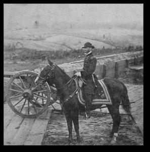 Sherman at Atlanta.  (Library of Congress)