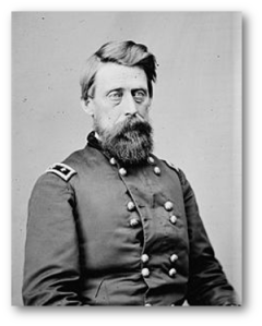 General Jefferson C. Davis, USA, was no relation to the Confederacy's president.  (Source)