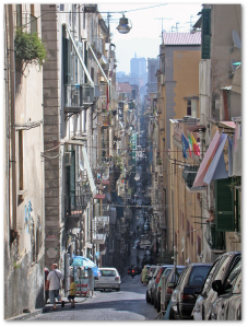 Parts of historic Naples have down to the modern era.  (Source)