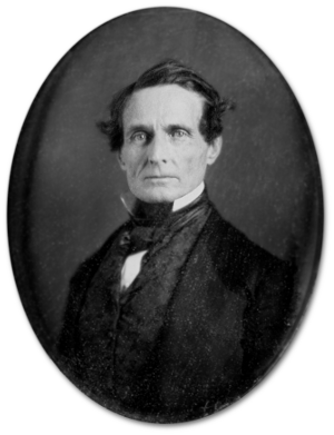 Jefferson Davis, 11 years earlier.  (Source)