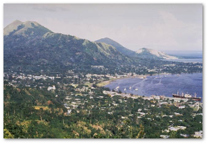Rabaul in 1969.  Source
