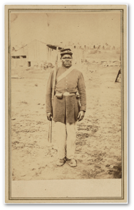 Private Hubbard Pryor joined the 44th, USCT, in April 1864.  He survived his ordeal after Third Dalton and subsequent return to slavery but died in his mid-40s in 1890.  Source.